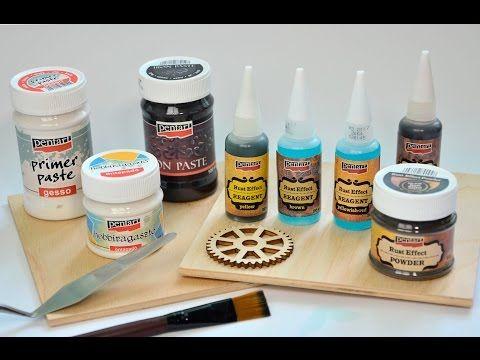 Rozsda hatás // Rusty effect guide - YouTube