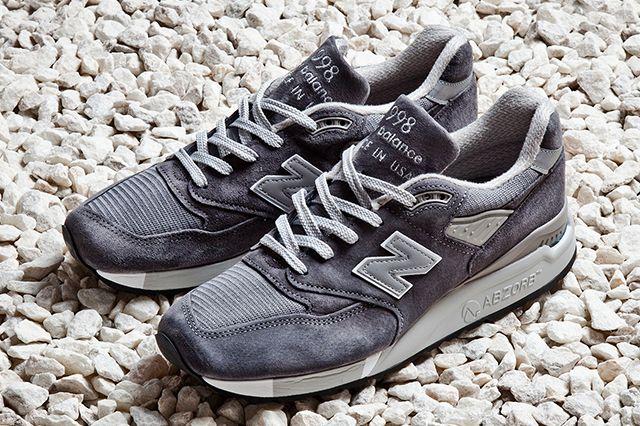 NEW BALANCE 998 MADE IN USA GREY - Sneaker Freaker