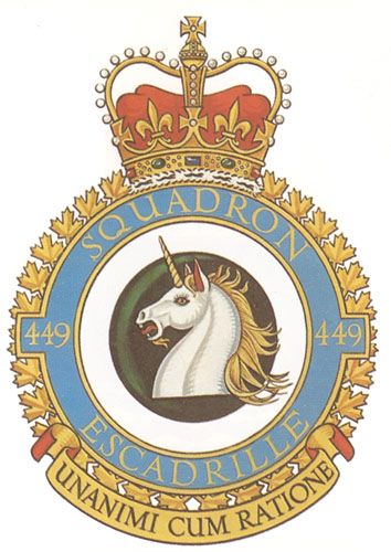 449 Squadron Badge - The Canadian Navy - ReadyAyeReady.com