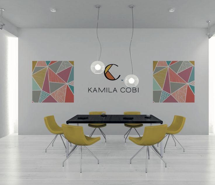 Branding para Kamila Cobi. Artista colombiana radicada en Australia.