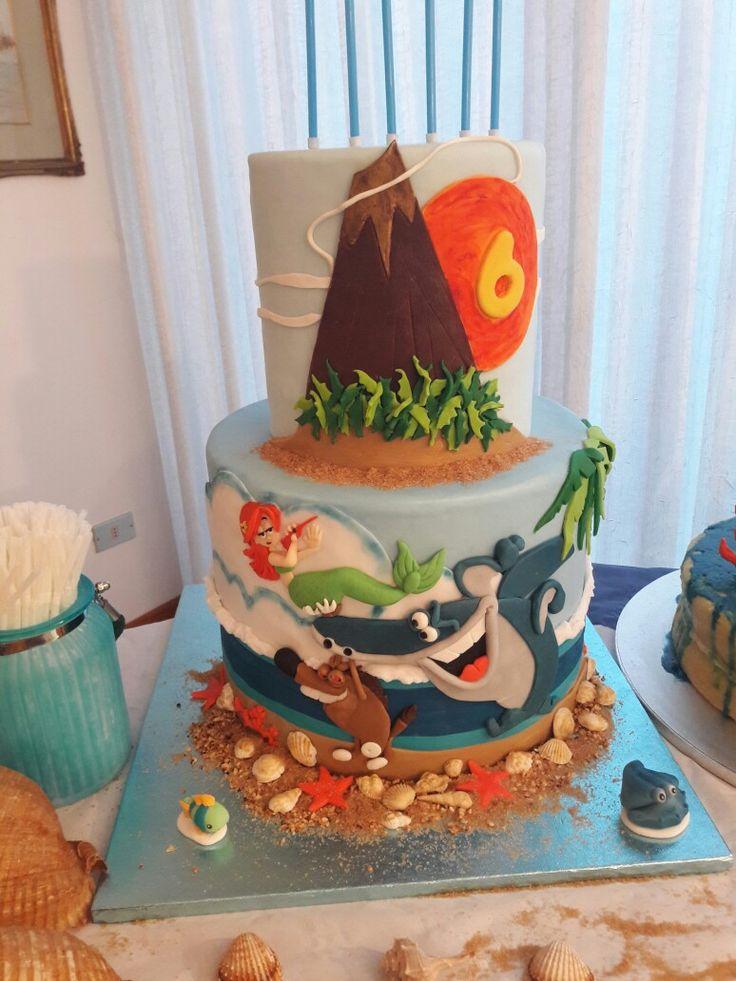 Zig and sharko cake
