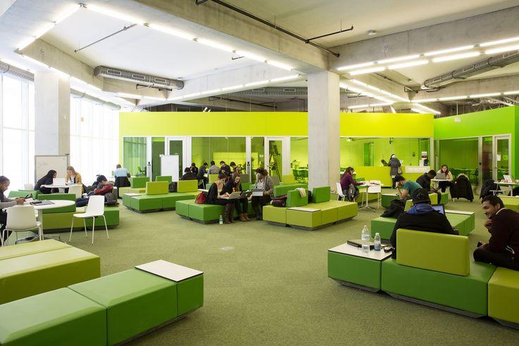 gallery of ryerson university student learning centre / zeidler, Möbel