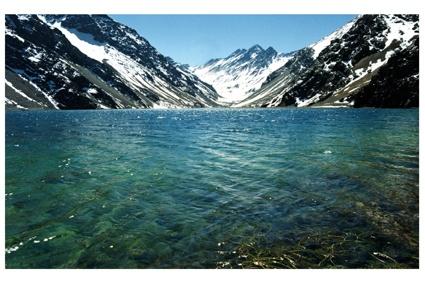 Laguna del Inca, Chile. So peaceful