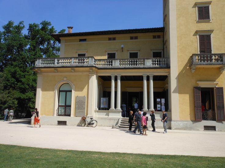 Villa Soragna, parco Nevicati, Collecchio, Parma