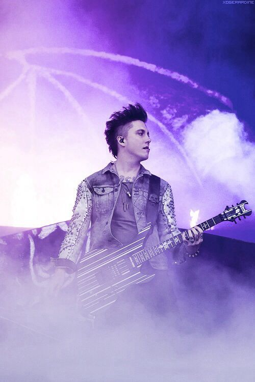 Synyster Gates. So I tried for a long time to avoid the A7X board, but I give. Love these guys