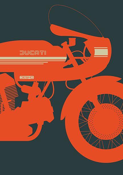 Motorcycle Art - Tim George