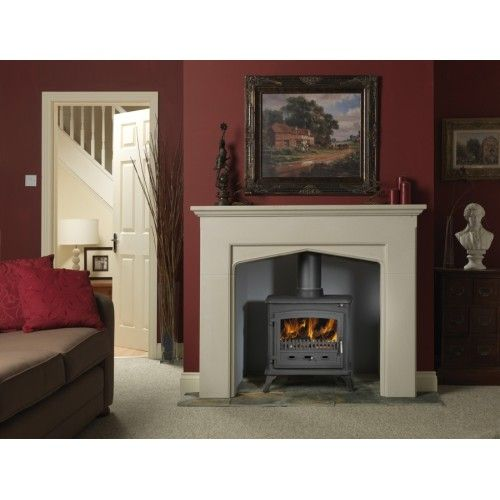Dimplex 8kw Westcott MF Stove Multi-fuel appliance suitable for burning wood and most approved, manufactured smokeless fuels Tested and approved to European Standard EN13240 Tested heat output: - 8.0kW (wood)