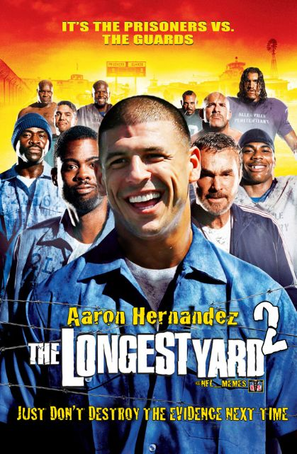 """""""The Longest Yard 2"""" Starring Aaron Hernandez May Have To Halt Production...For Now"""