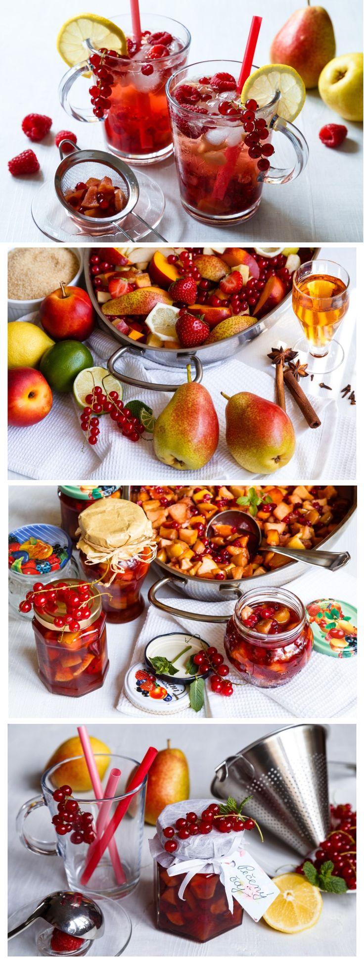 Máte dostatek ovoce? Udělejte si domácí pečený čaj. Jeho výroba je snadná - v podstatě stačí libovolné ovoce zasypat cukrem a upéct v troubě.