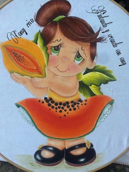 Niña papaya