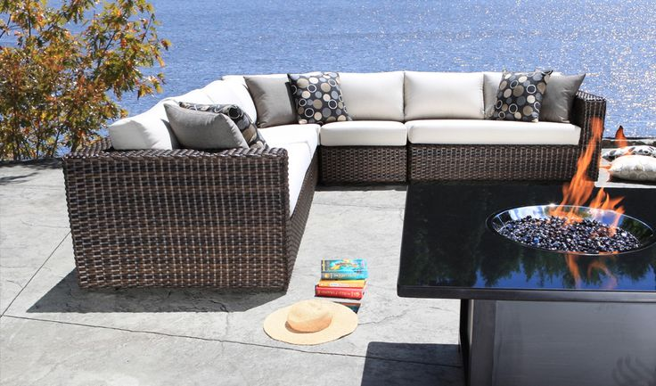 Outdoor Sectional Wicker Patio Furniture