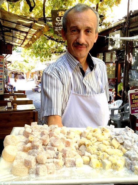 The lokum, 'Turkish Delight', of Safranbolu