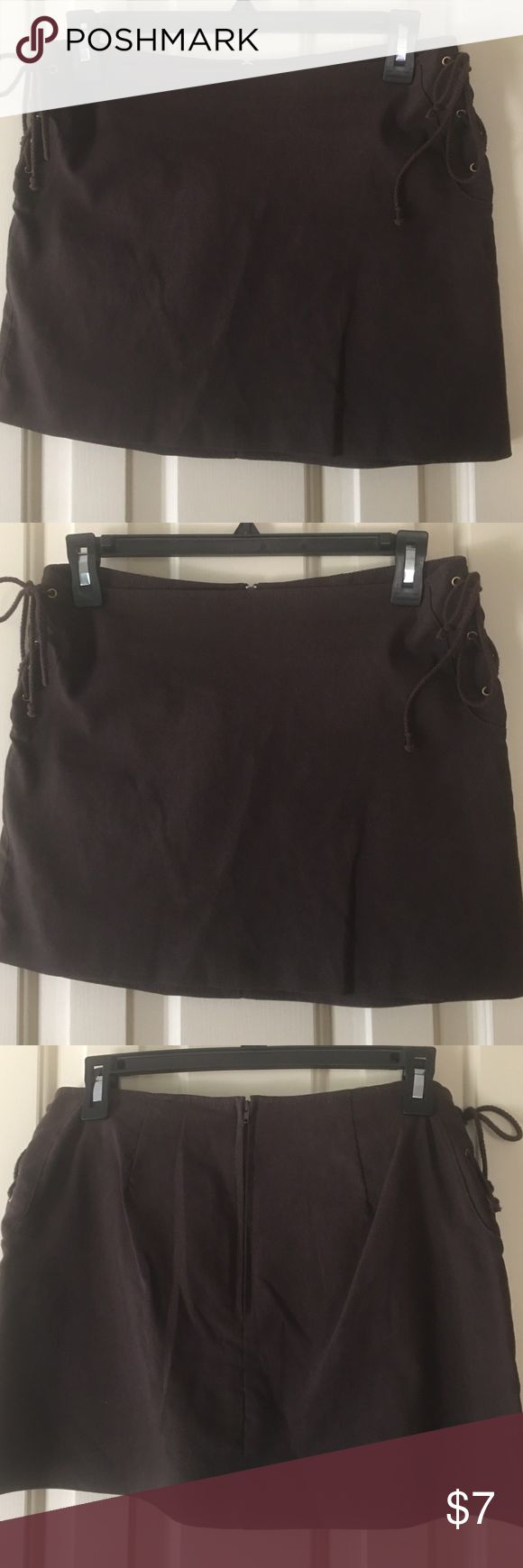 XoXo small size brown skirt Mini skirt, brown Skirts Mini