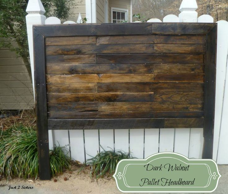 69 best images about recycled pallet furniture on for How to make a wood pallet headboard