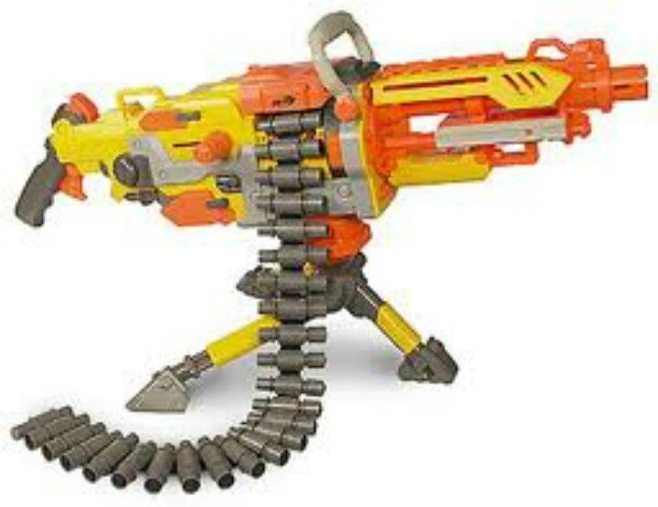 Dude, if I had this, I would win EVERY nerf battle with my brother!
