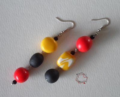 Earrings : Pop Art Earrings