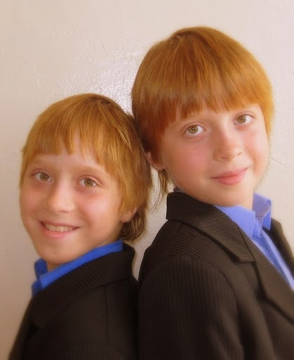 Ginger Twins: Red Hairs, Ranga Styles, Gingers Twin