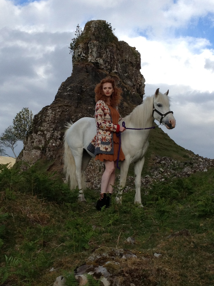 Modern day Brave princess! hahaha #Scotland