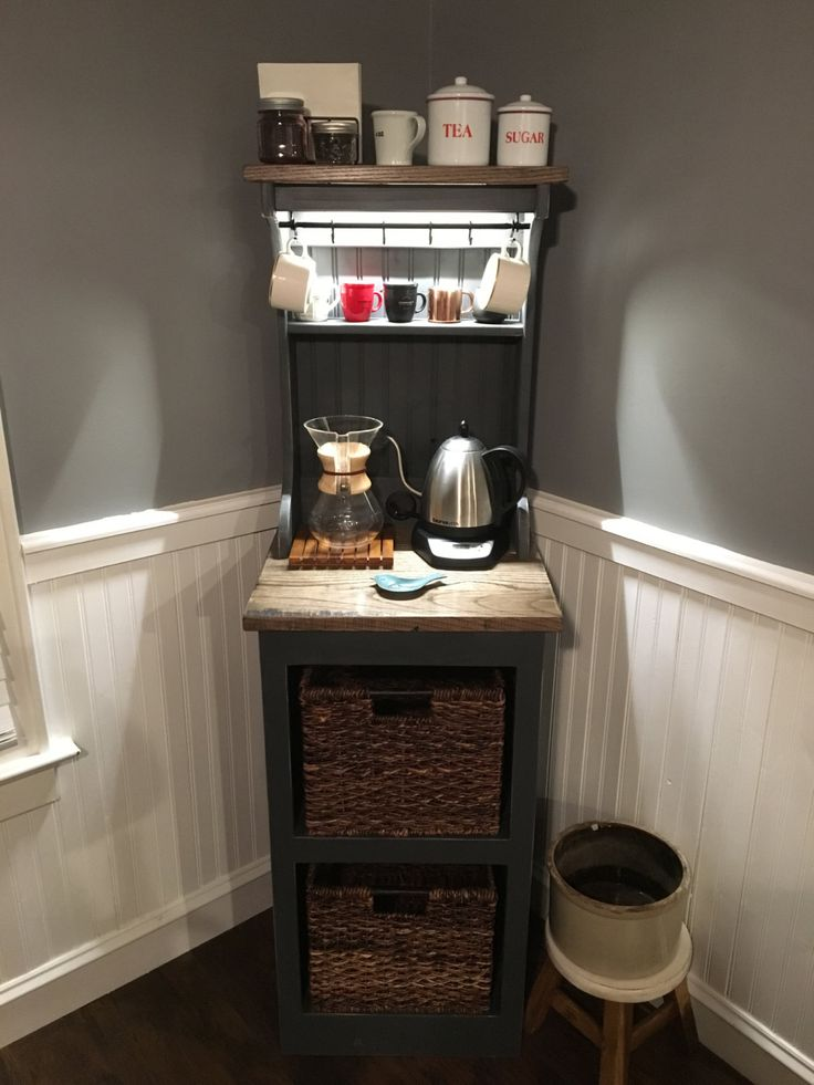 Eddie 1 Lighted Coffee Bar Free Shipping Etsy Projects