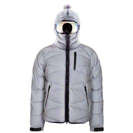 AI Riders on the Storm Reflective Padded Jacket