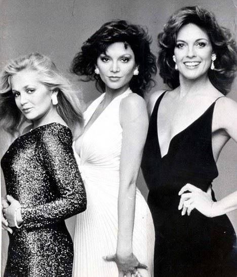 1980's - Dallas - Charlene Tilton, Victoria Principal and Linda Gray