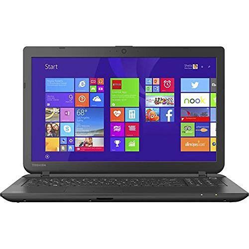 Toshiba Satellite C55-B5302 15.6-Inch Laptop (Intel Celeron Processor N2840, 4GB RAM, 500GB Hard Drive, Multiformat DVD±RW/CD-RW drive, Windows 8.1)