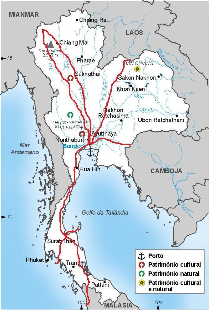 Roteiro de viagem na Tailândia: as praias das ilhas de Koh Samui e Koh Phi Phi, assim como a costa de Krabi. Conhecer Mae Hong Son e Chiang Mai.