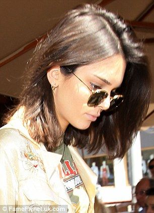 Kendall Jenner says Christy Turlington's '90s lob inspired her haircut