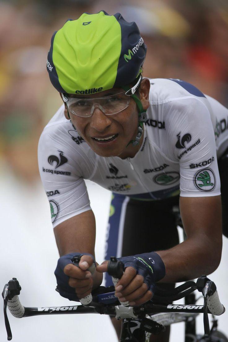 ¡Grande Nairo Quintana! #TourdeFrance http://