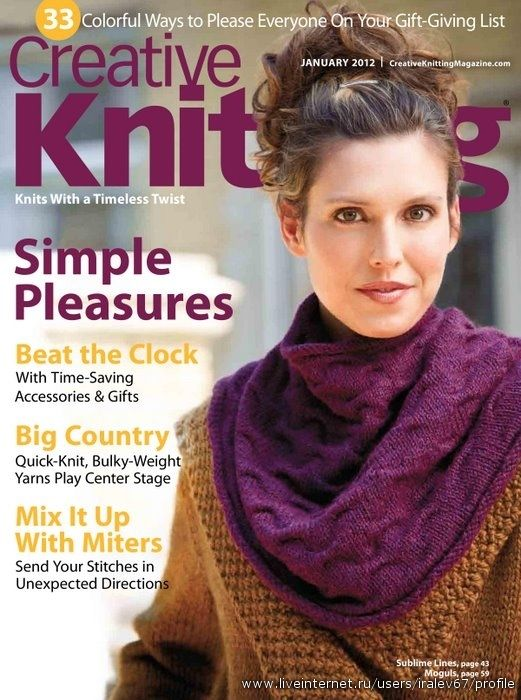 Knitting Magazine Cover : Images about knitting magazines on pinterest