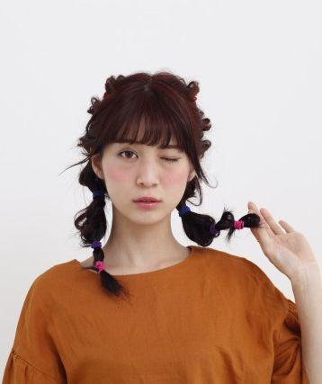 立体感がかわいいぽこぽこヘアスタイル♪参考にしたいカット・アレンジ・髪型☆