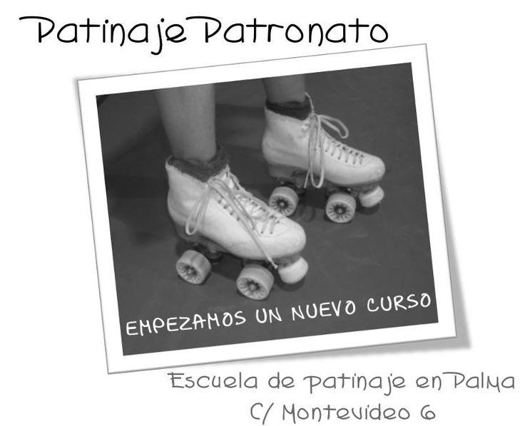 Patinaje Patronato, escuela de patinaje artístico en Palma de Mallorca. Clases de iniciación para niños y entrenamientos de competición.