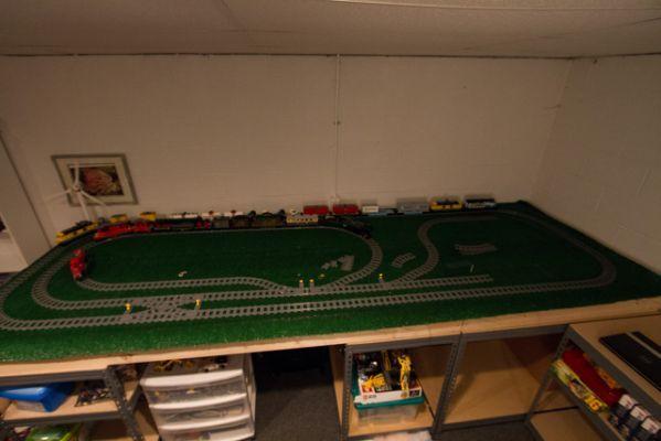 Lego City Train Track Layouts
