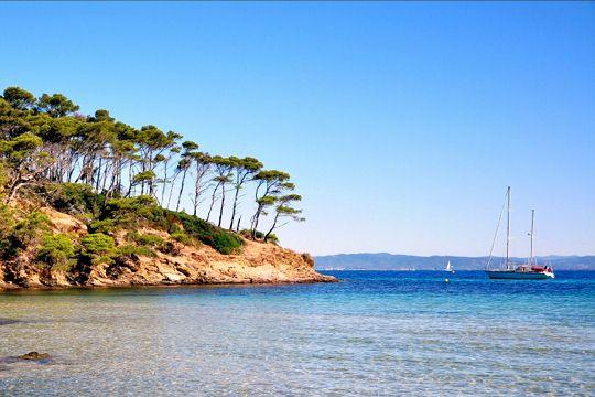 Porquerolles : Perle rare sur la Côte d'Azur, l'île de Porquerolles est protégée de toute construction par son affiliation au Parc National. Depuis 1979, elle héberge le Conservatoire Botanique National Méditerranéen, ce qui la place sous le double signe de protection de l'environnement et de mise en valeur de la faune et de la flore.
