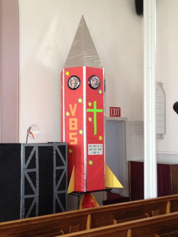 17 best ideas about cardboard rocket on pinterest