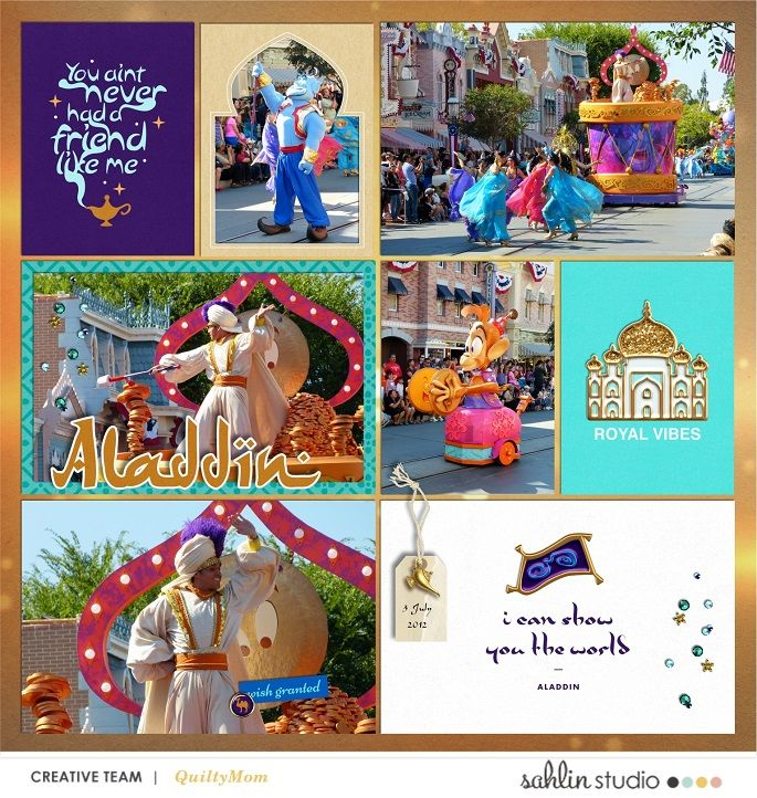 NEW Walt Disney World Capture the Magic 2012 Scrapbooking Kit 12x12