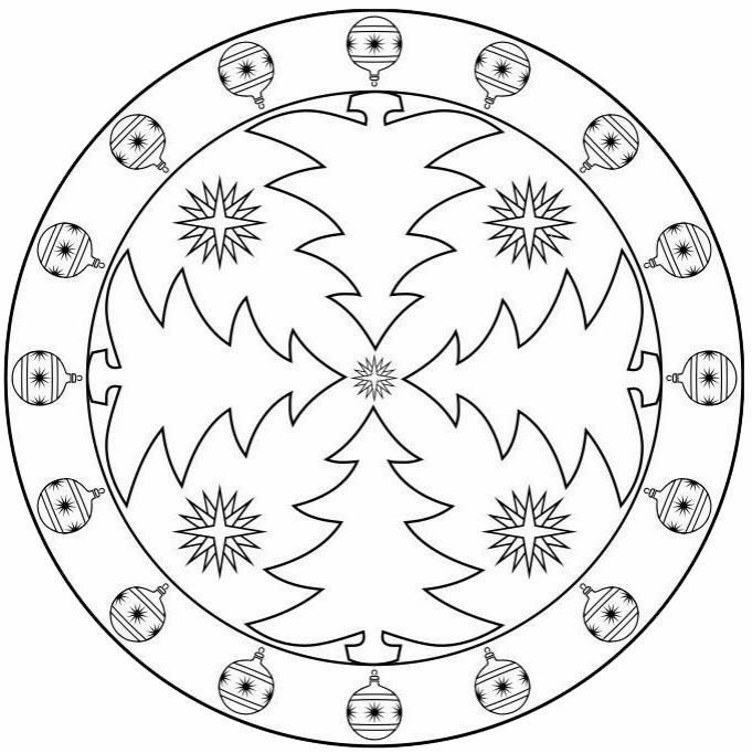 christmas tree mandala coloring page (5)