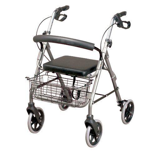 #puericultura Homecraft – Andador con frenos y 4 ruedas