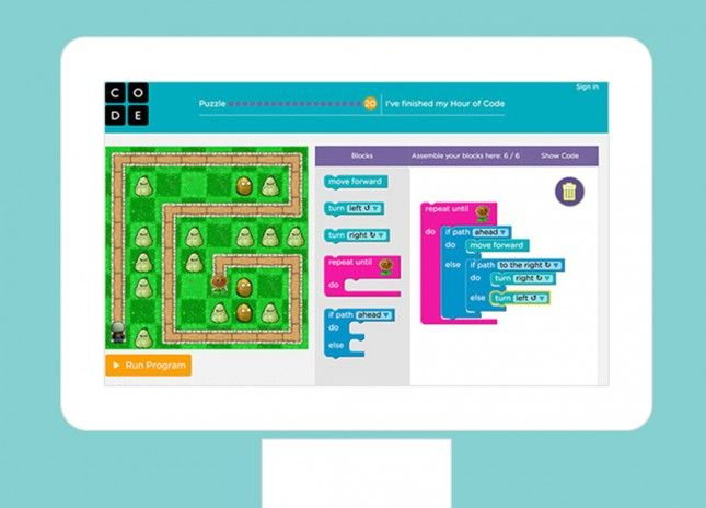Teach your child coding with this site.