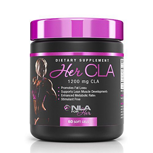 HER CLA is NLA for Her's powerful, highly concentrated form of the naturally occurring Conjugated Linoleic Acid (CLA). When combined with diet and regular exercise Her CLA can help you achieve a lean body. What type of supplements is Her CLA and what are its benefits? Her CLA is Conjugated... more details at http://supplements.occupationalhealthandsafetyprofessionals.com/weight-loss/supplements/cla/product-review-for-nla-for-her-her-cla-1200-mg-cla-conjugated-linoleic-ac