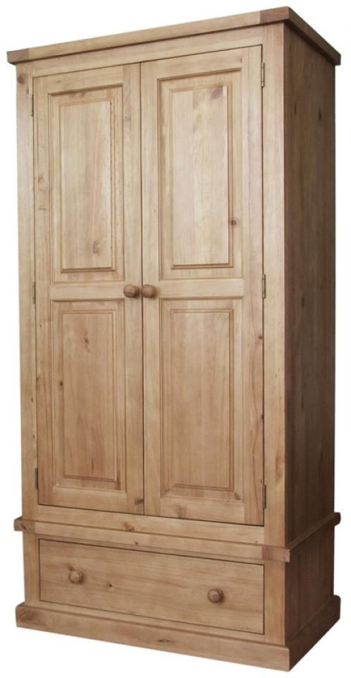 Marvelous Chunky Pine Single Wardrobe Pine Armoire In 2019 Pine Download Free Architecture Designs Crovemadebymaigaardcom