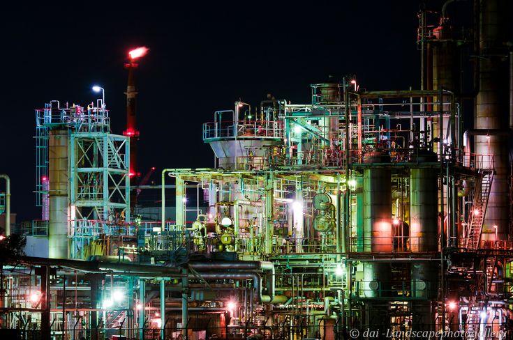 夜景工場 川崎 - Google 検索