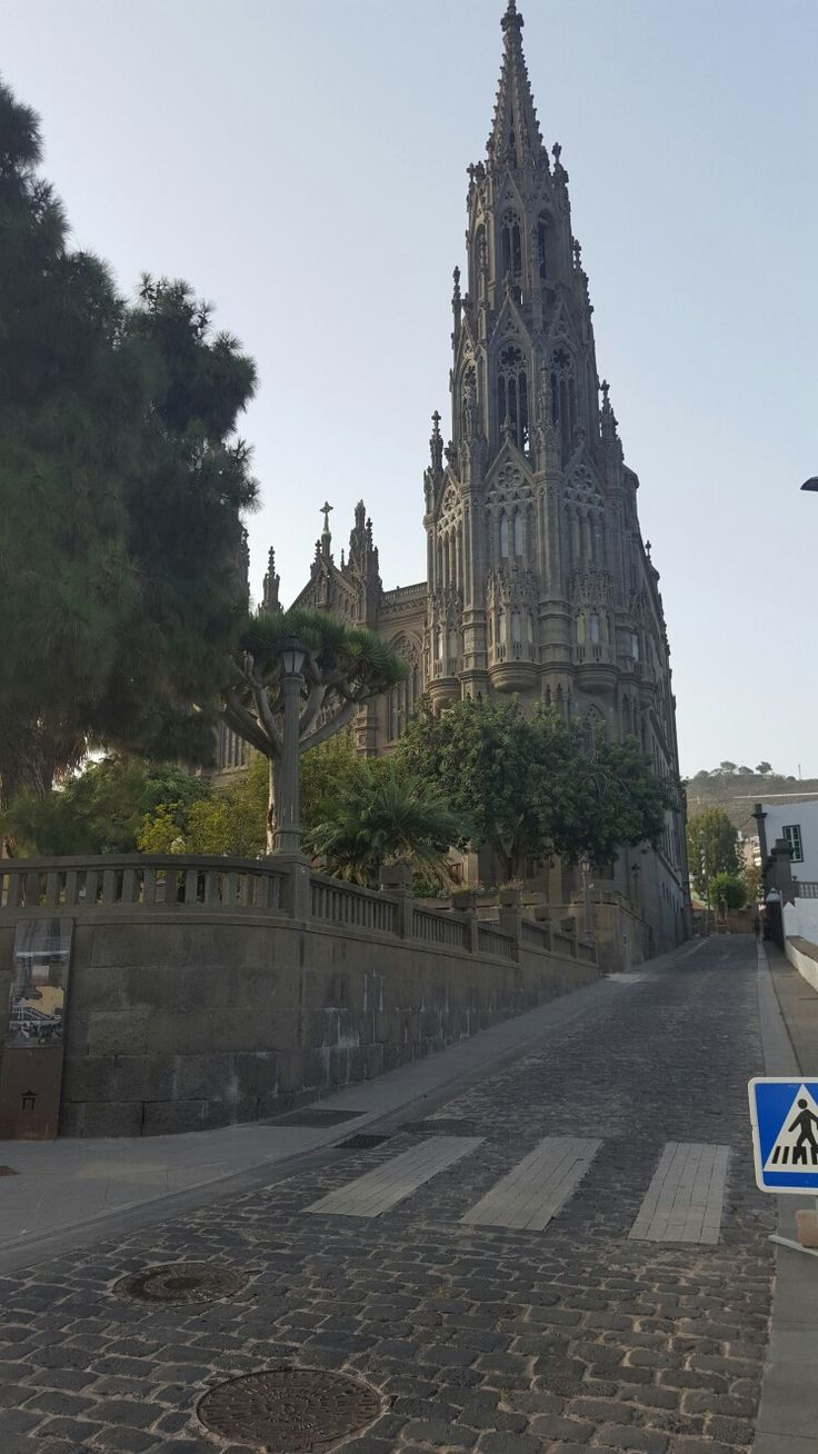 Iglesia de arucas gran canaria