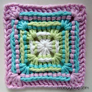 How to Crochet: 16 Quick and Easy Granny Square Patterns ...