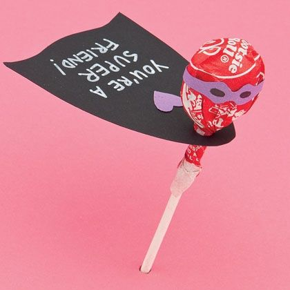Caped Cute-sader ~ Your child will be a hero when they hand out these supertreats!