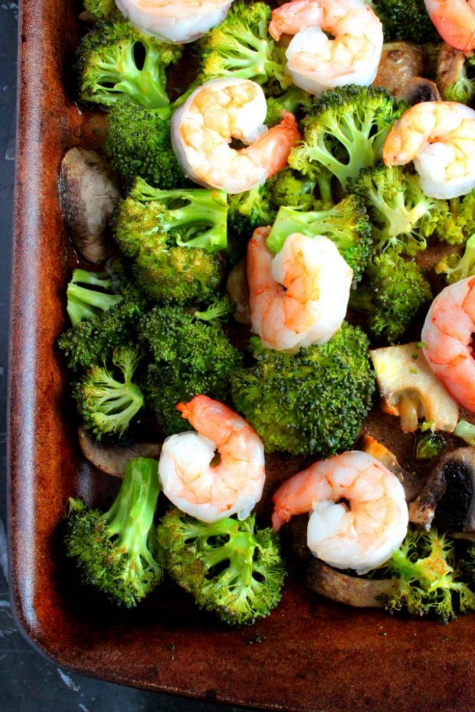 Shrimp and Broccoli Sheet Pan Meal - Big Bear's Wife -Thirty minutes from start to finish. If you love shrimp and broccoli, this Shrimp and Broccoli Sheet Pan Meal is sure to be a winner at your dinner table.