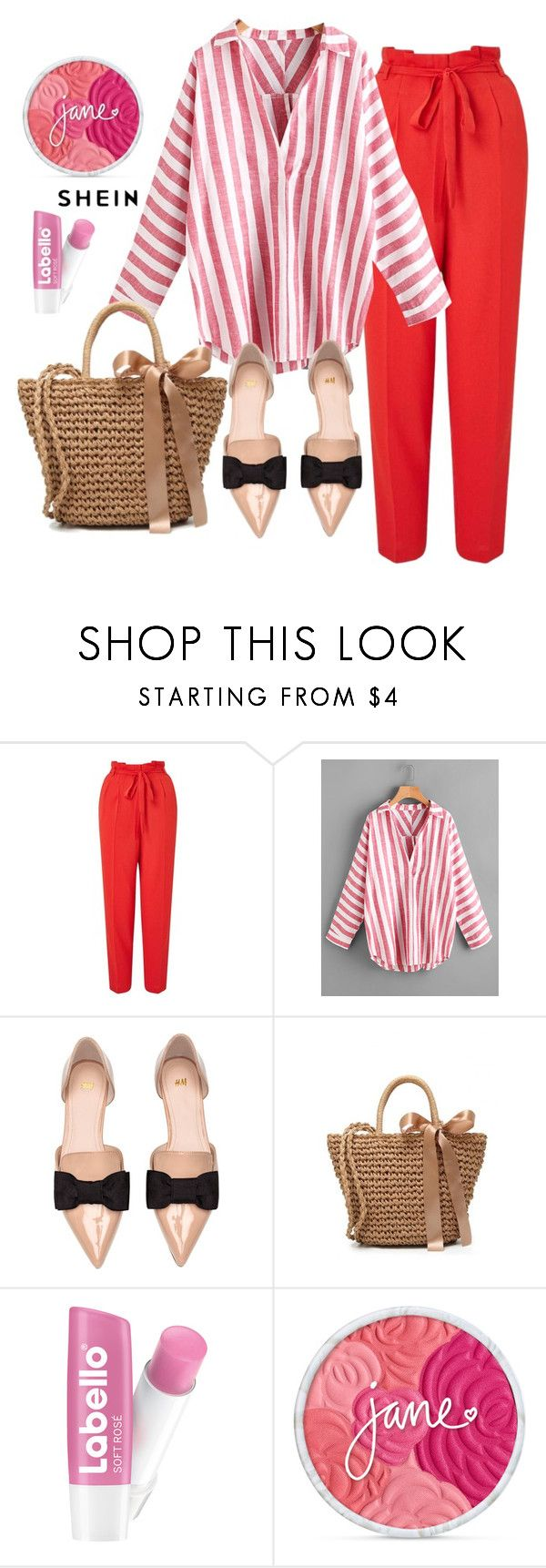 """""""Shein"""" by salama-iii ❤ liked on Polyvore featuring Miss Selfridge and H&M"""