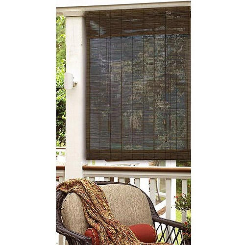 Radiance Natural Roll-Up Imperial Matchstick Window Shade