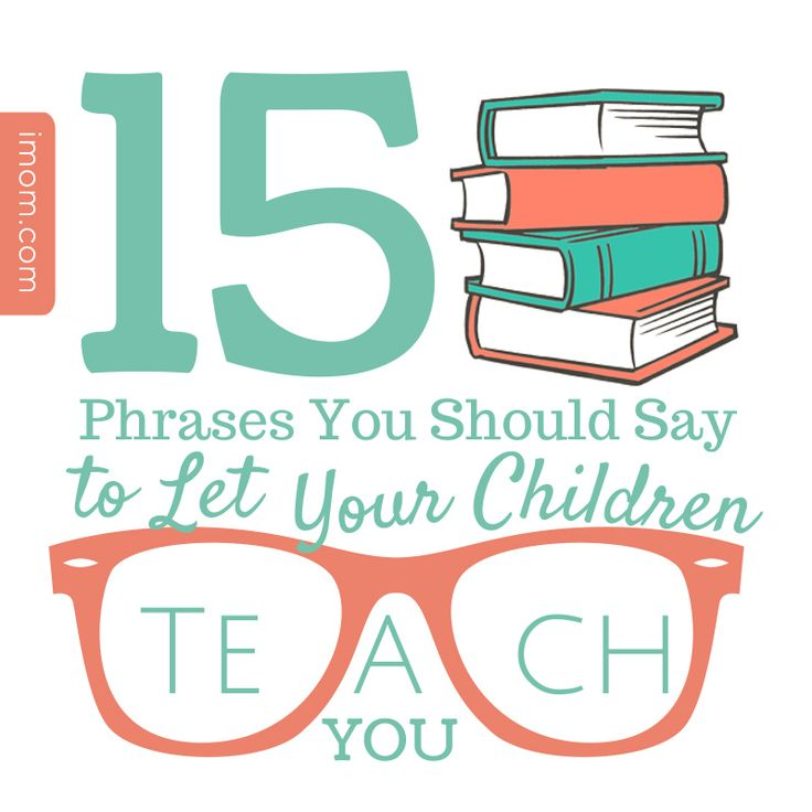 Of course, I know that parents are the main teachers in a family, but it's good to let our children hone their teaching skills too.  They'll need them one day at work, in friendships, and even in their own parenting days.   #iMOM #parenting #momlife