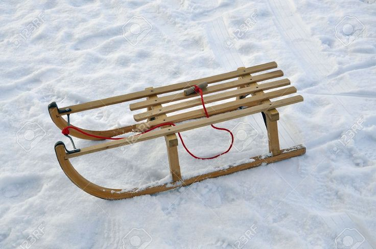 Wooden Snow Sleds For Sale images